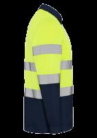 Polo ostrzegawcze długi rękaw z nadrukiem firmowym 331